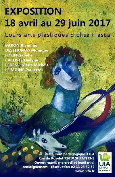 cours arts plastique Elisa Fiasca UIA inter age normandie
