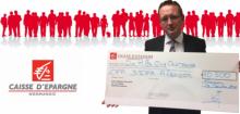 LA CAISSE D'EPARGNE de Normandie soutient le CFA 3 IFA dans son action en faveur de l'apprentissage