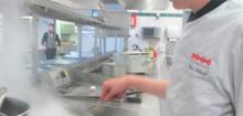darnes de saumon grillées et technique du quadrillage