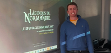Clément Launay, apprenti en BTS NDRC 1ère année
