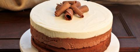 Samedis gourmands / Cours de Pâtisserie / Entremets aux 3 chocolats