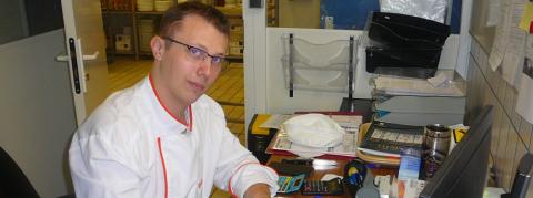 Tristan Huard est le nouveau gérant de la restauration collective du 3ifa.