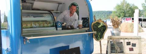 David Gallienne food truck Jardin des Plumes
