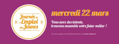 #JEJCarrefour2017 Carrefour, employeur responsable, donne à chacun une chance de trouver un emploi : près de chez soi, avec ou sans diplôme, avec ou sans expérience.