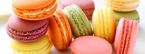 Samedi gourmand / Cours de pâtisserie / Macarons aux deux parfums